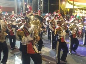 Desfile Cívico celebrou os 121 anos de Petrolina (Foto: Felipe Perreira / TV Grande Rio)