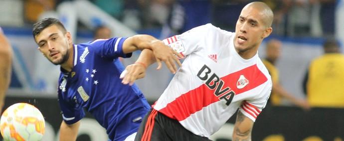 Cruzeiro River Plate Arrascaeta (Foto: Paulo Fonseca/EFE)