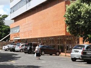Hospital de Clínicas da UFU (Foto: Reprodução/TV Integração)