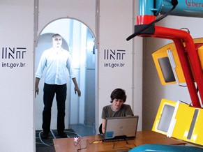 Globo Universidade: INT - Scanner 3D (Foto: Divulgação)