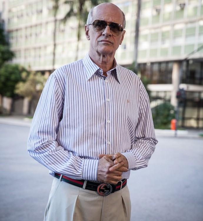 Marcos Caruso será Feliciano em A Regra do Jogo, um ex-rico de bem com a vida (Foto: Pedro Curi/ Globo)