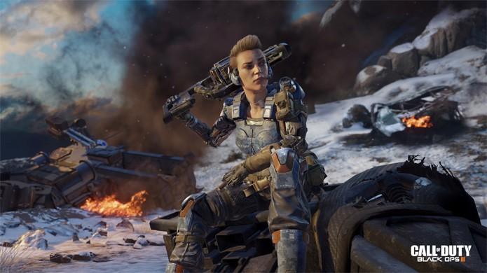 Call of Duty: Black Ops 3 será o primeiro da série com opção de protagonista feminina (Foto: Reprodução/Gematsu)