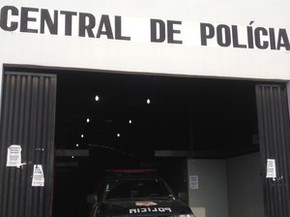 Central de Flagrantes, em Porto Velho-RO (Foto: Ana Kézia Gomes)