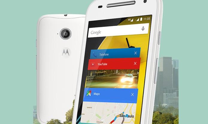 Novo Moto E oferece três opções com diferentes preços e funções (Foto: Divulgação/Motorola)