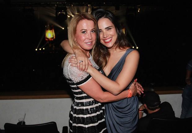 Zilu Camargo e Wanessa (Foto: Celso Tavares / EGO)