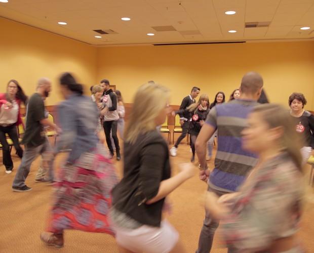 Pré-selecionados do Rio de Janeiro participam da dinâmica em grupo (Foto: Gshow) (Foto: Gshow)
