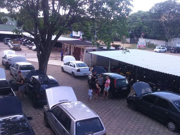Período de visitação de veículos a serem leiloados vai até este sábado (4) (Foto: Polícia Civil/Divulgação)