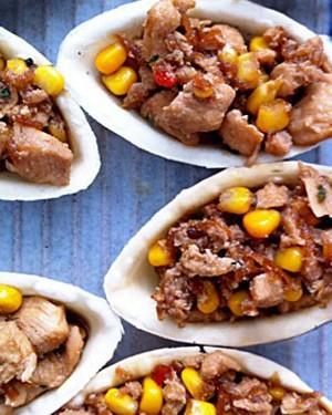 Cestinha de frango tailandês (Foto: Casa e Comida)