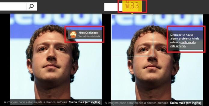 Teste o serviço com fotos de famosos (Foto: Reprodução/Bing)