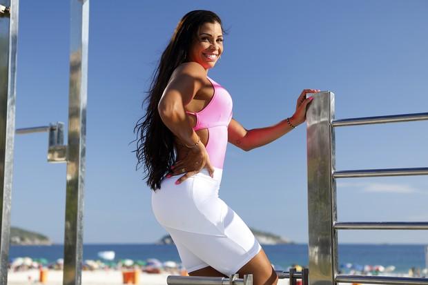 Alexandra Ricette, musa da Mangueira (Foto: Marcos Serra Lima / EGO)