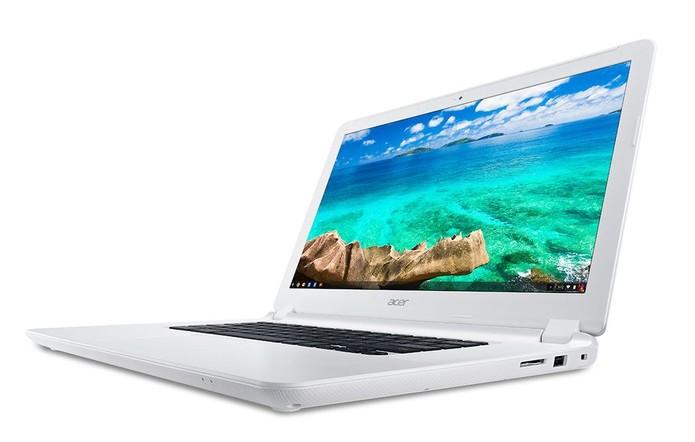 Chromebook 15, primeiro modelo com 15 polegadas de tela é da Acer (Foto: Divulgação/Acer)