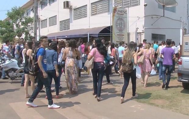Cerca de 90 mil canditados fizeram a prova do Enem em Rondônia (Foto: Bom Dia Amazônia)