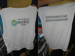 Coletes foram devolvidos para a secretaria. (Foto: Divulgação/Sindas/AL)