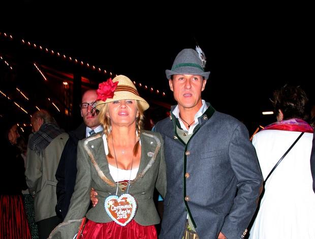 Schumacher, Todt e esposas Oktoberfest (Foto: Splash News)