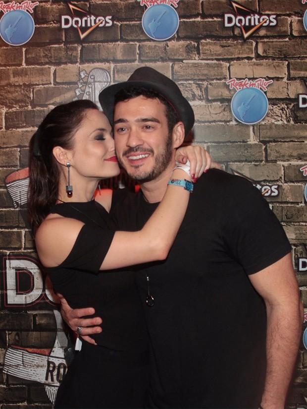 Marcos Veras e Rosanne Mulholland (Foto: Sergio Gallo/ Ed. Globo)