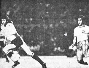 Brasil x Uruguai no Estádio Castelão em 1980 (Foto: Divulgação)