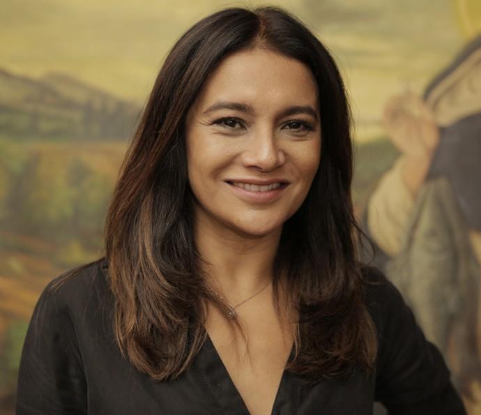 Dira Paes fará um curta-metragem de uma diretora americana e contrancenará com Albie Selznick (Foto: Inácio Moraes/ Gshow)