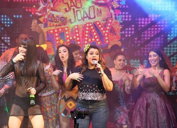 Preta Gil canta no São João da Thay (Foto: Reprodução/Instagram)
