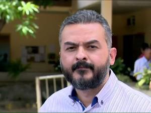 Neto Barros, prefeito de Baixo Guandu (Foto: Rafael Zambe/ TV Gazeta)