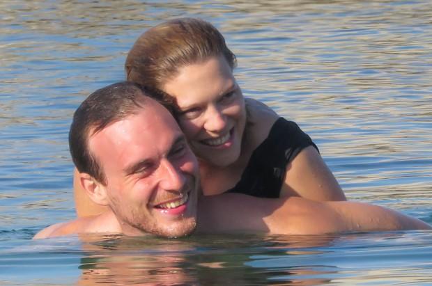 Léa Seydoux e o namorado, Andre Meyer (Foto: AKM-GSI)