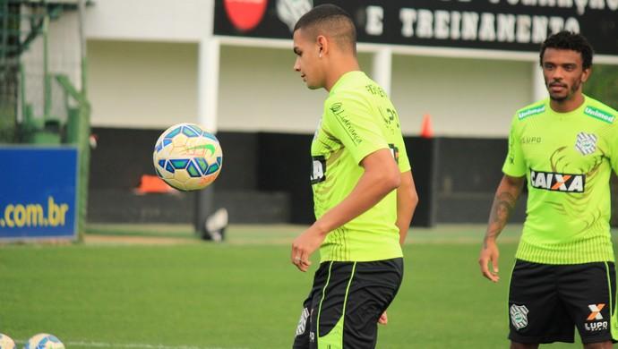 dener paulo roberto figueirense (Foto: Luiz Henrique / FFC)