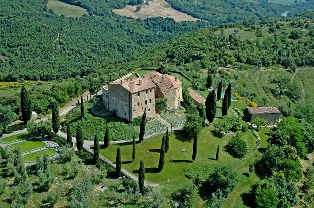 Castello di Vicarello, na Itália  (Foto: Reprodução/hotels in heaven)