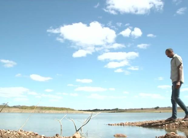 Seca no Sertão de Pernambuco prejudica agricultores. (Foto: Reprodução/TV Grande Rio)