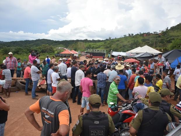 Rodovia foi liberada após 48h de interdição (Foto: Jorge Tadeu / Arquivo pessoal)