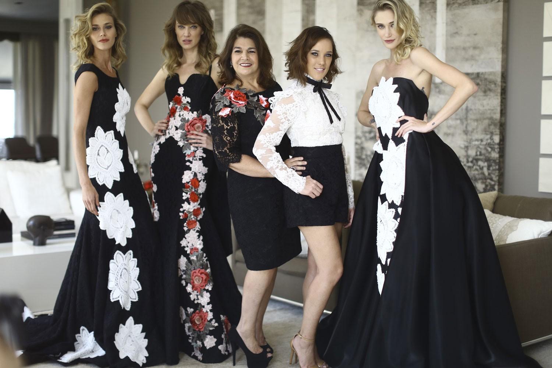 Da esquerda para a direita: Renata Kuerten, Talytha Pugliesi, Martha Medeiros, Adriana Birolli e Vivi Orth01 (Foto: Francio de Holanda)