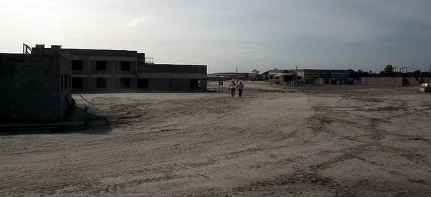 Bahia divulga imagens das obras da Cidade Tricolor, novo centro de treinamentos do clube (Foto: Divulgação/EC Bahia)