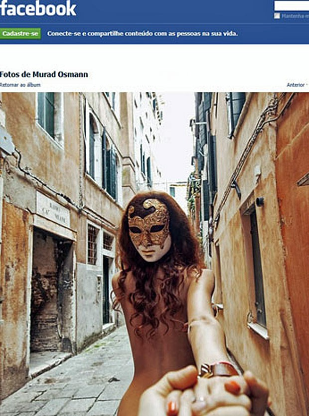 Foto de Murad Osmann para projeto Follow Me em Veneza-vertical (Foto: Reprodução/Facebook)
