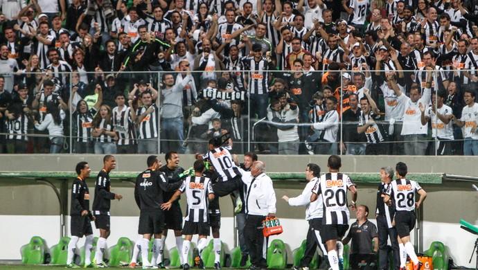 Jogadores do Atlético-MG comemoram gol no Independência (Foto: Bruno Cantini / Flickr do Atlético-MG)