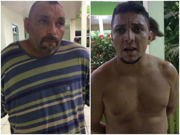 Dupla foi presa pela Polícia Civil durante o cumprimento de mandados, em Rio Branco  (Foto: Divulgação/Polícia Civil )