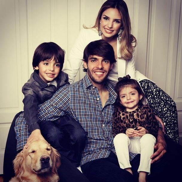 Kaká e familia (Foto: Instagram/Reprodução)