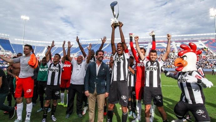 Atlético-MG campeão do Torneio da Flórida (Foto: Divulgação / Atlético-MG)
