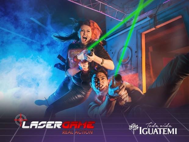 Laser Game (Foto: Shopping Iguatemi/Divulgação)