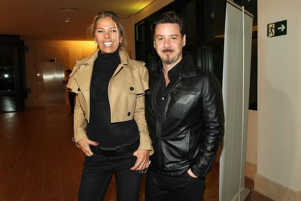 Adriane Galisteu e o marido (Foto: Manuela Scarpa e Marcos Ribas / Foto Rio News)
