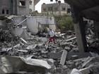 Palestinos calculam danos de conflito em Gaza entre US$ 4 e 6 bilhões