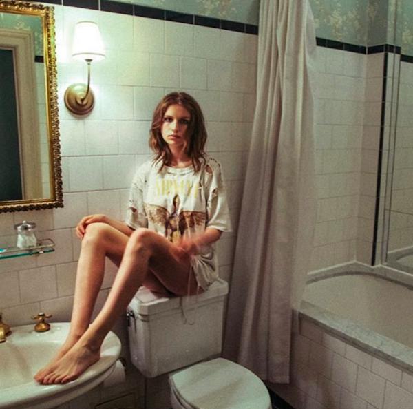 A modelo Tali Lennox (Foto: Instagram)