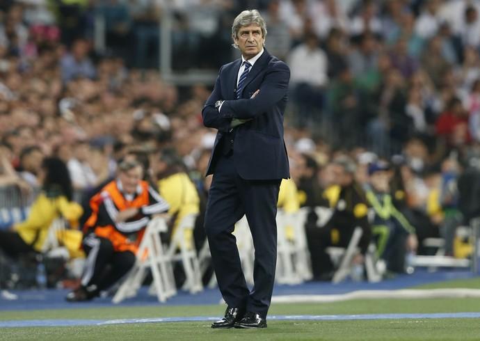 """Manuel Pellegrini viu sorte na vitória do Real Madrid: """"Não acho que merecemos perder"""" (Foto: Reuters)"""