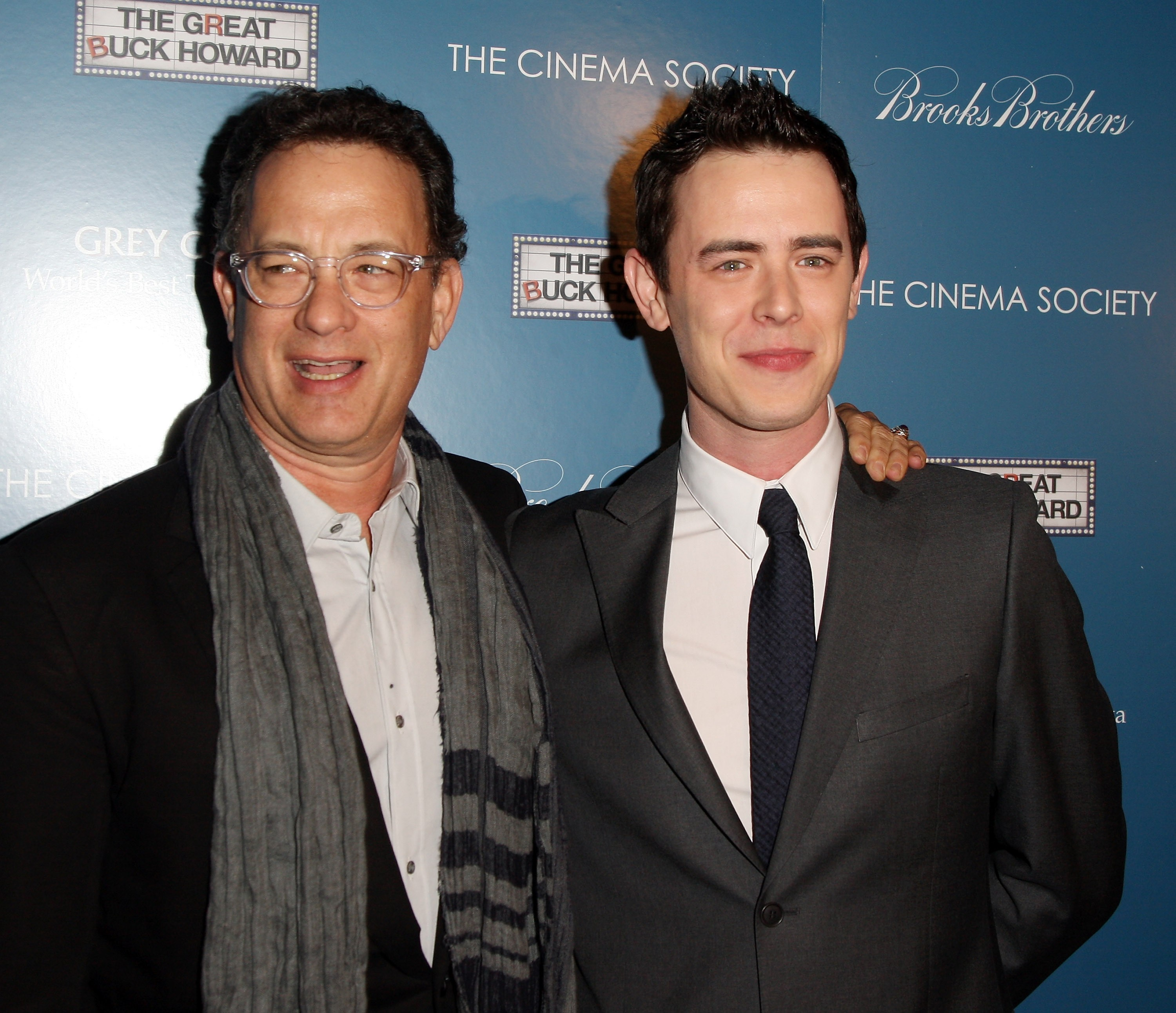 Tom e Colin Hanks (Foto: Getty Images)