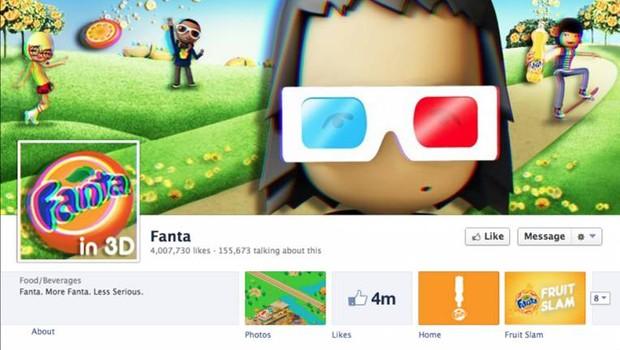 Facebook: Fanta (Foto: reprodução / internet)
