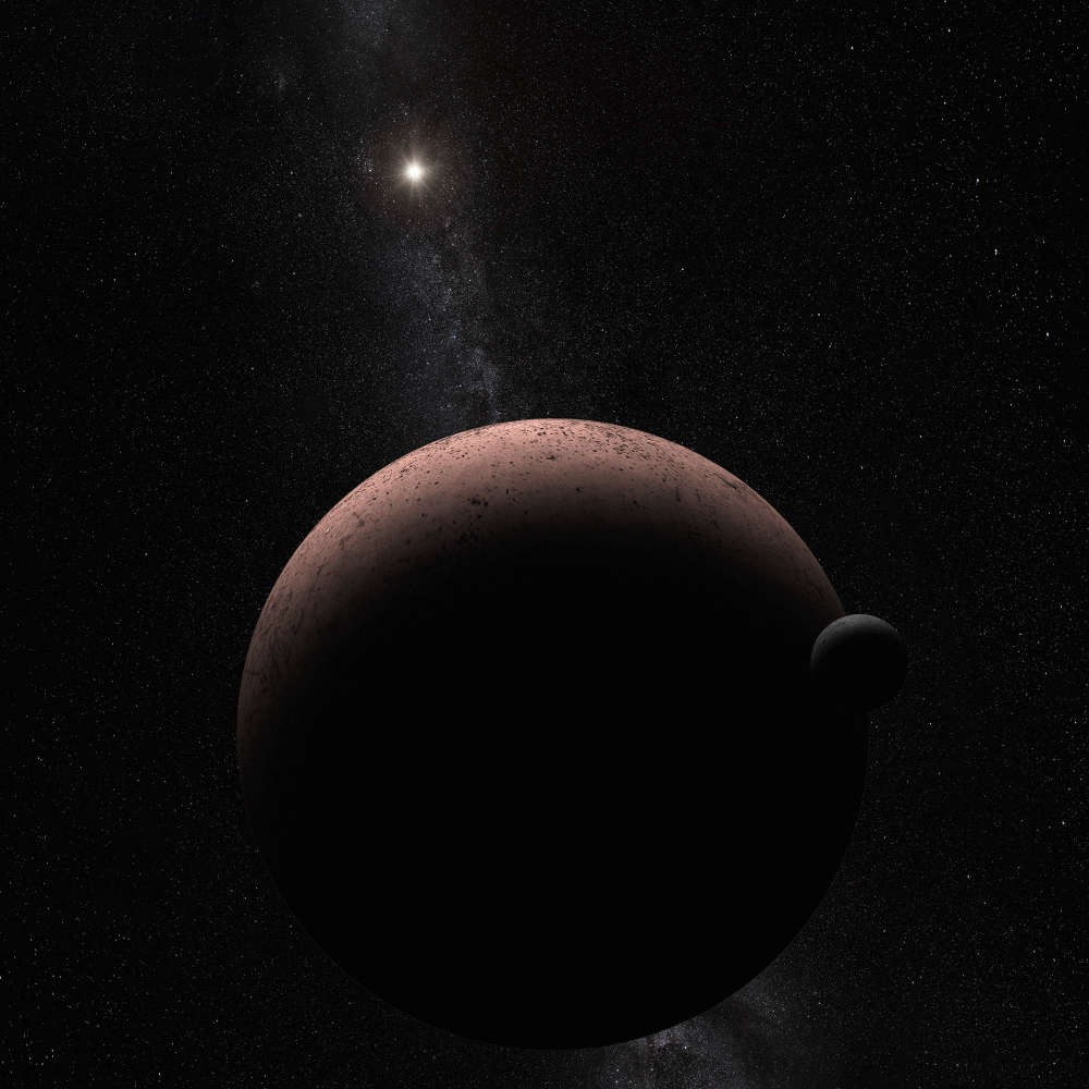 Vulcões de gelo estão escondidos na 'borda' do Sistema Solar