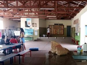 Escola estadual Pedro Moraes Cavalcanti em Piracicaba (Foto: Thainara Cabral/G1)