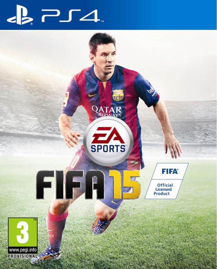 Messi será a grande estrela da capa do Fifa 15 (Foto: Divulgação)