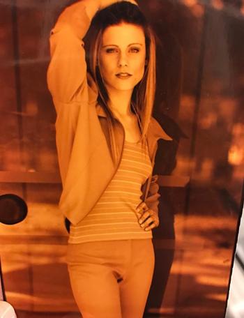 Daiana Garbin aos 19 anos (Foto: Reprodução/Instagram)