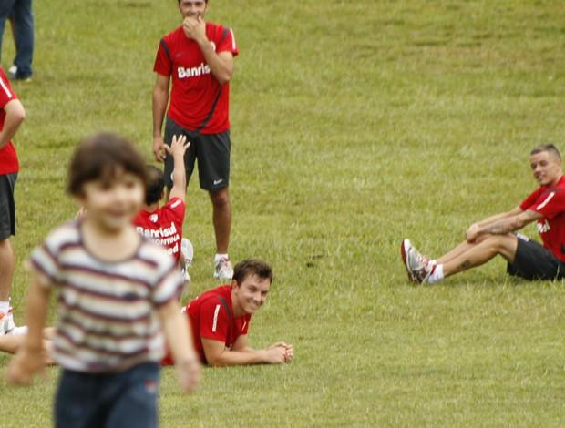 D'Alessandro meia Inter (Foto: Diego Guichard / GLOBOESPORTE.COM)