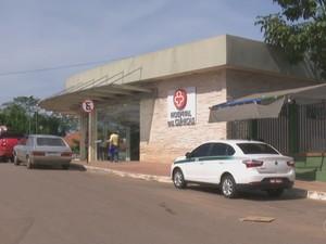 Hospital das Clínicas do Acre (Foto: Reprodução/Rede Amazônica Acre)