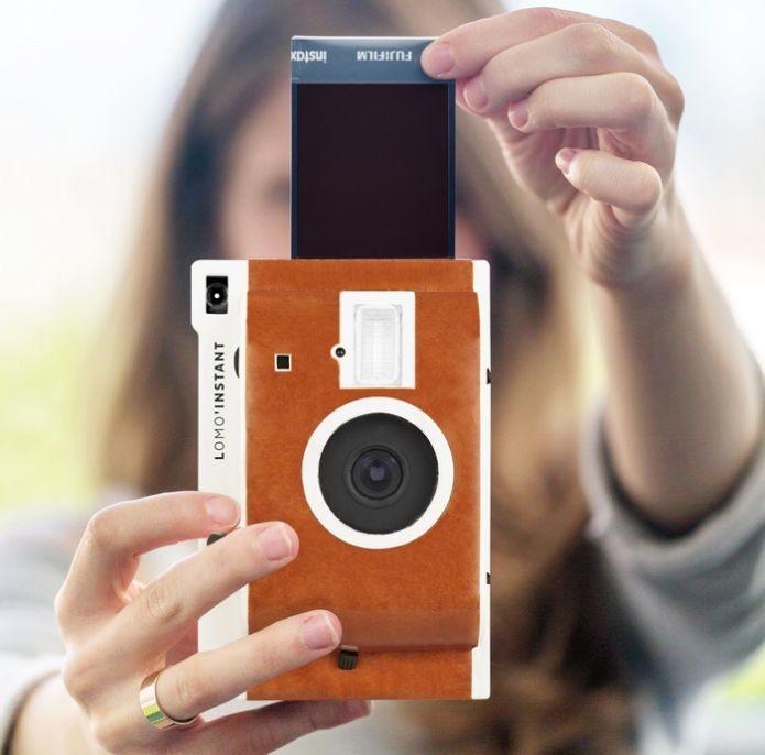 A Lomo Instant utiliza filme da Fujifilm (Foto: Divulgação) (Foto: A Lomo Instant utiliza filme da Fujifilm (Foto: Divulgação))