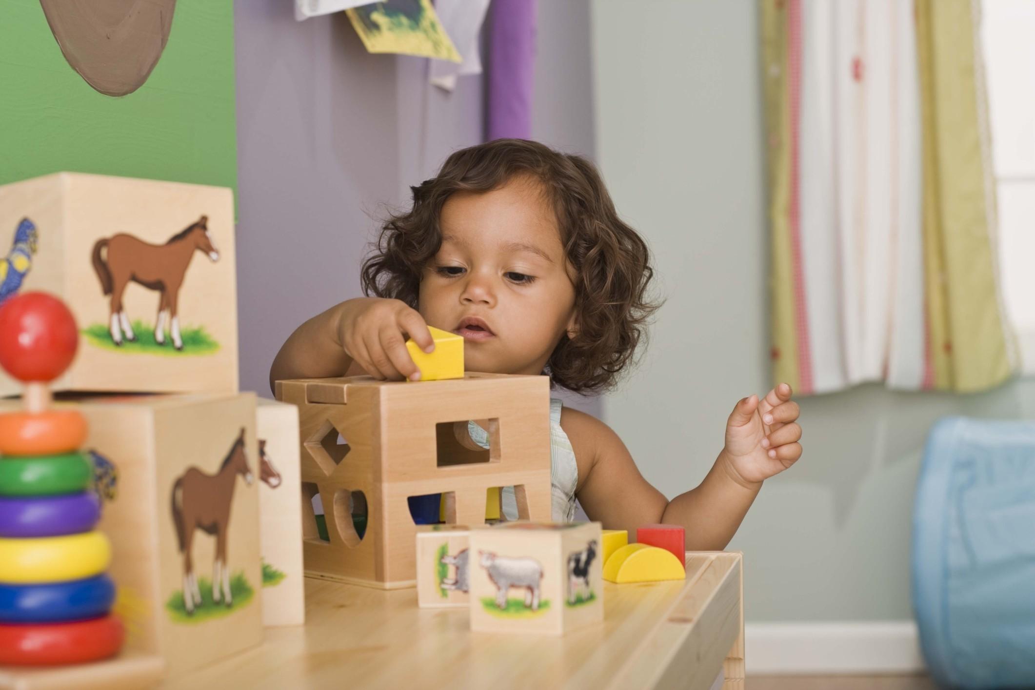 Menina brincando (Foto: Thinkstock)